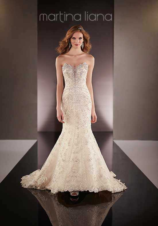 Martina Liana 736 Mermaid Wedding Dress