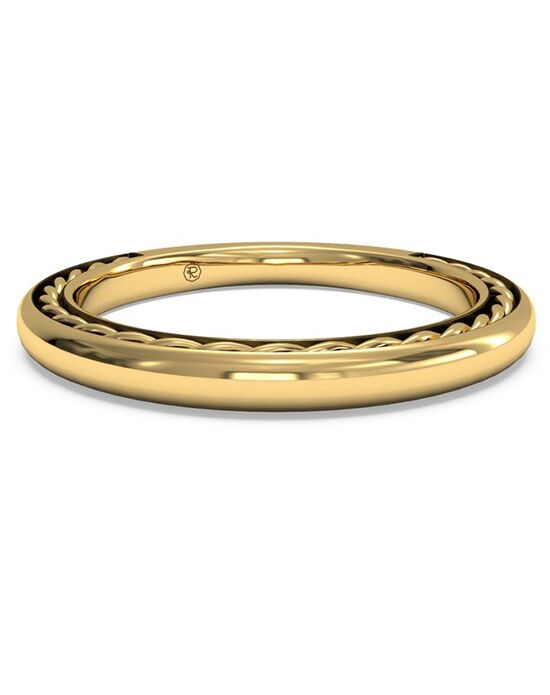 Ritani Women's Classic Braided Wedding Band - in 18kt Yellow Gold Gold Wedding Ring