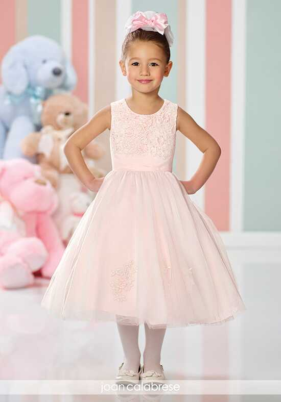 Joan Calabrese by Mon Cheri 216323 Ivory Flower Girl Dress