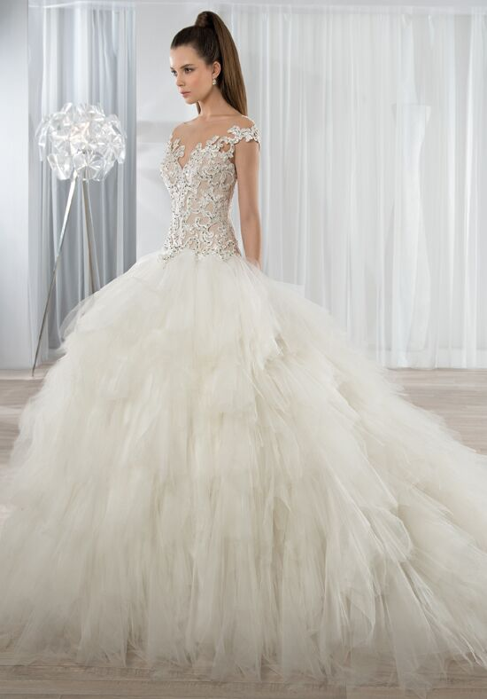 Demetrios 611 Ball Gown Wedding Dress