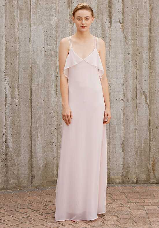 Nouvelle Amsale Bridesmaids Avery V-Neck Bridesmaid Dress