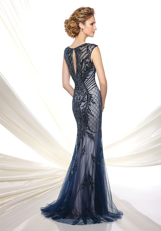Ivonne D. 116D31 Blue Mother Of The Bride Dress