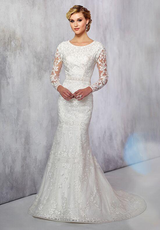 Modest Mermaid Wedding Dress