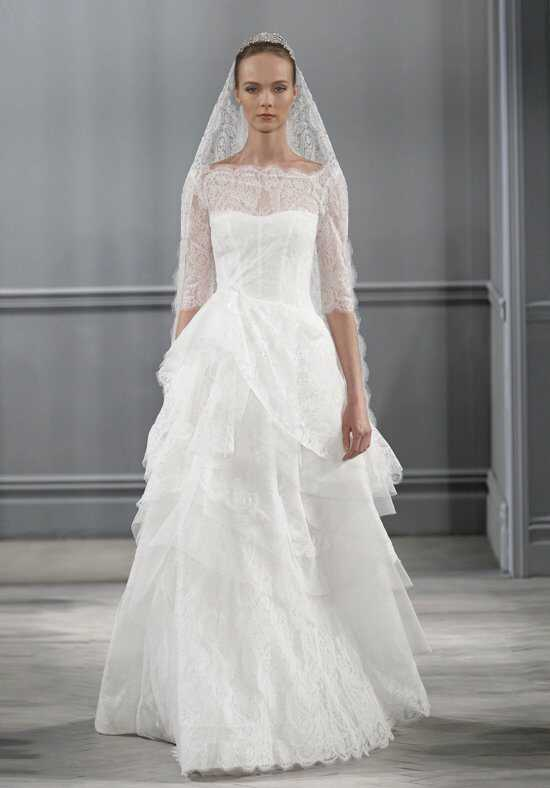 Monique Lhuillier Monaco Ball Gown Wedding Dress