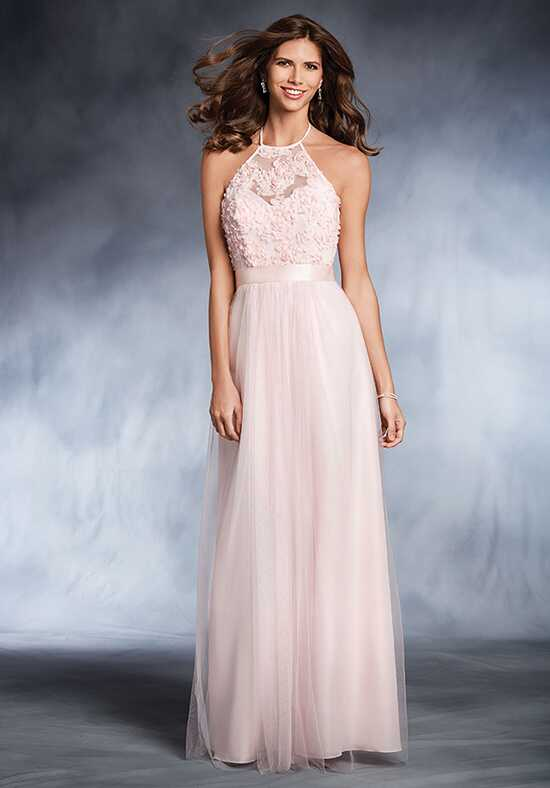 Alfred Angelo Disney Royal Maidens Collection 544L Halter Bridesmaid Dress