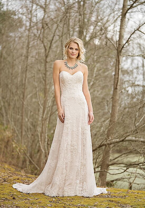 Lillian West 6466 A-Line Wedding Dress