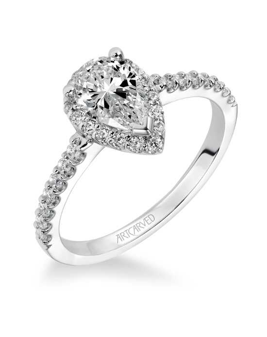 ArtCarved Classic Round Cut Engagement Ring