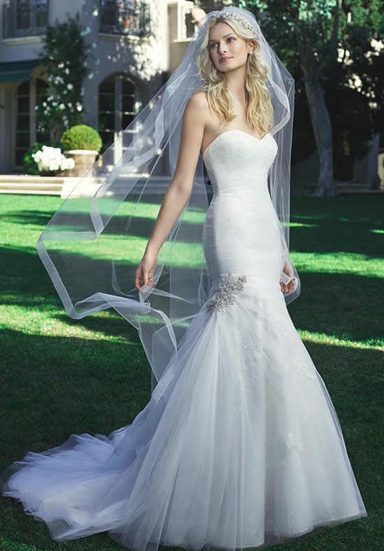 Casablanca Bridal 2216 Mermaid Wedding Dress