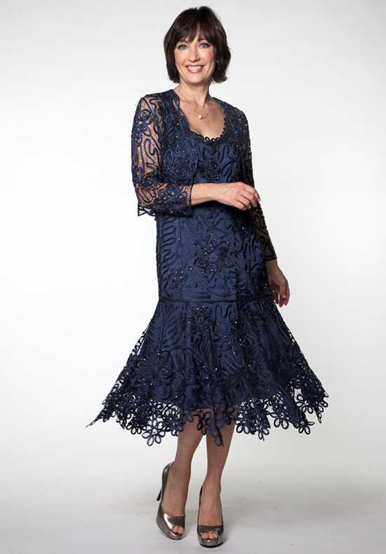 LuxeLace by Soulmates C9126 Blue Mother Of The Bride Dress
