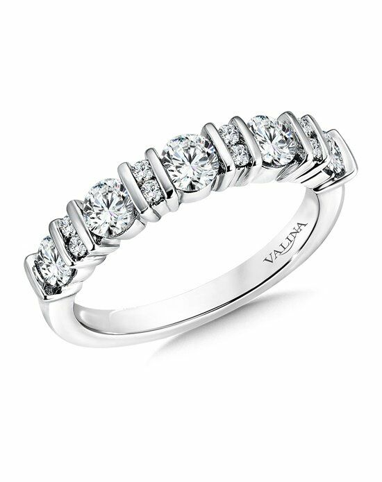 Valina R9531BW White Gold Wedding Ring