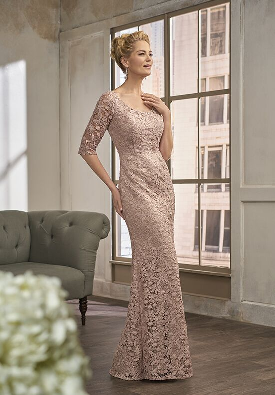 Jade Couture K198013 Champagne Mother Of The Bride Dress