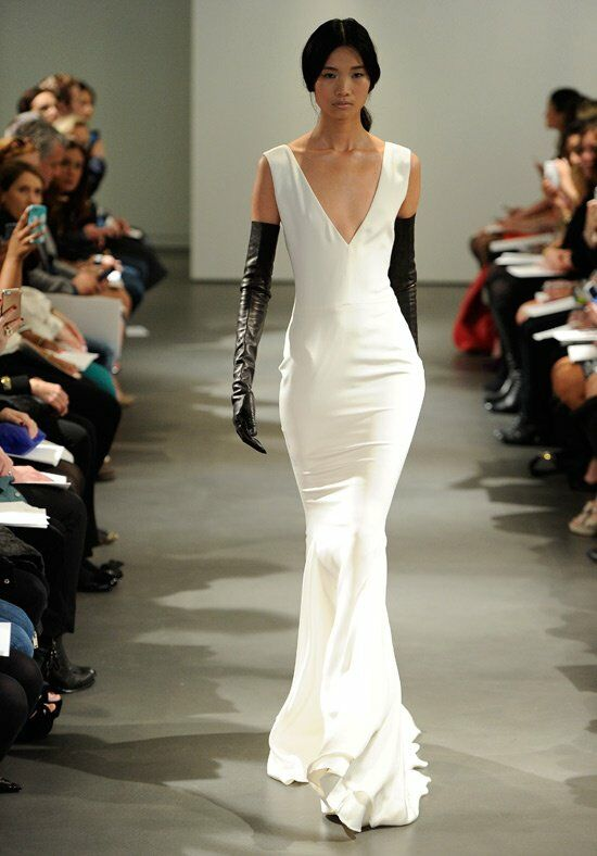 Vera Wang Spring 2014 Look 1 Wedding Dress - The Knot