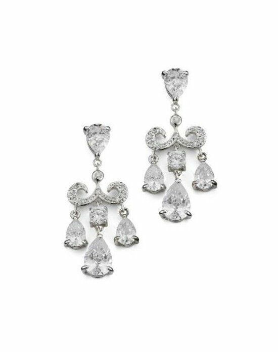 Anna Bellagio LOREN CUBIC ZIRCONIA EARRINGS Wedding Earring photo
