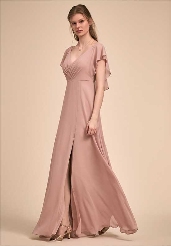 BHLDN (Bridesmaids) Paisley Dress V-Neck Bridesmaid Dress