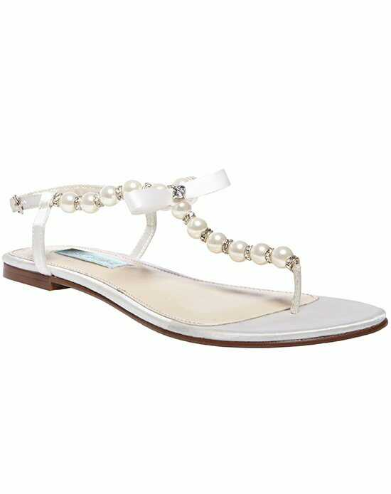 Blue by Betsey Johnson SB-Pearl- Ivory Ivory Shoe