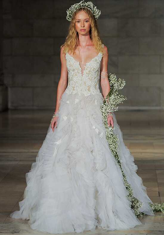 Reem Acra Smitten Ball Gown Wedding Dress