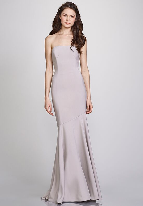 THEIA Bridesmaids Michelle Strapless Bridesmaid Dress