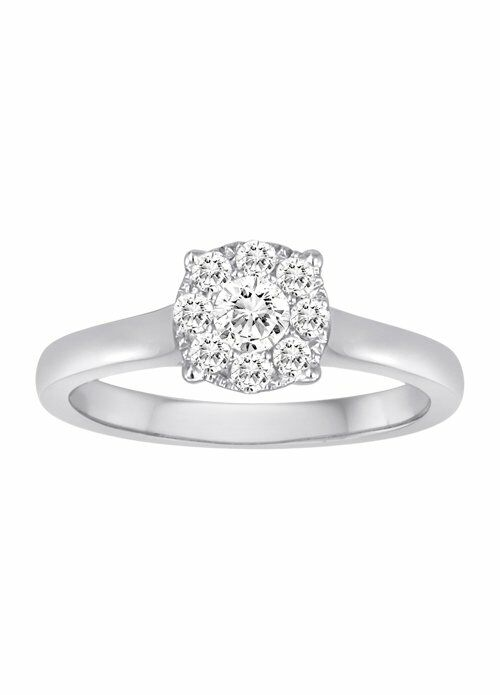 The Vow DFWR215039DW Wedding Ring The Knot