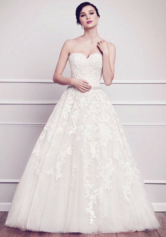 Kenneth Winston 1570 Ball Gown Wedding Dress