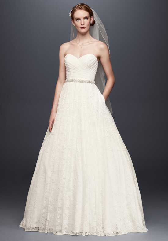 David's Bridal David's Bridal Collection Style WG3829 A-Line Wedding Dress
