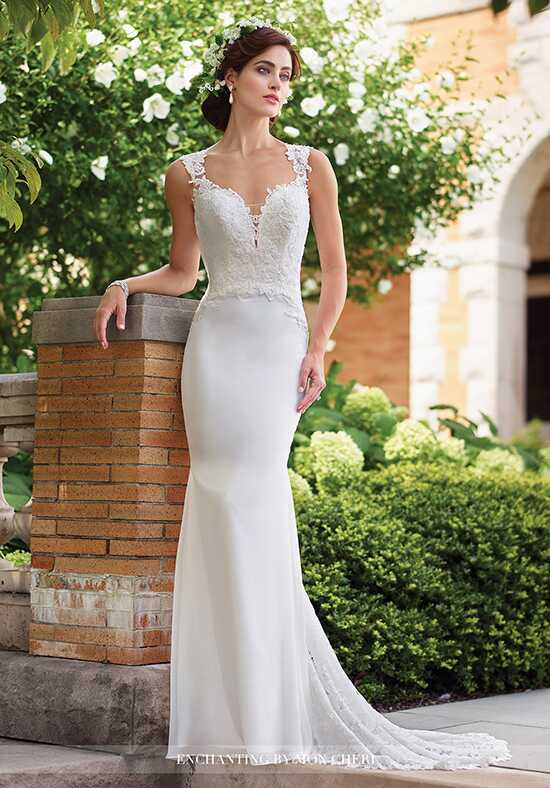 Enchanting by Mon Cheri 117187 Sheath Wedding Dress