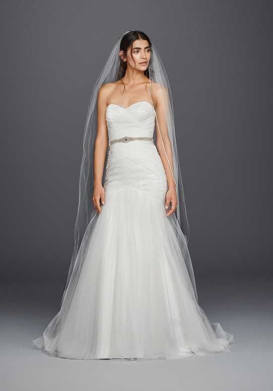 David's Bridal David's Bridal Collection Style WG3791 Mermaid Wedding Dress