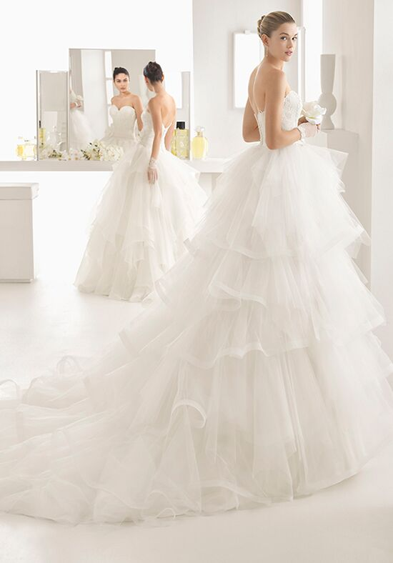 Two by Rosa Clará Omic Ball Gown Wedding Dress