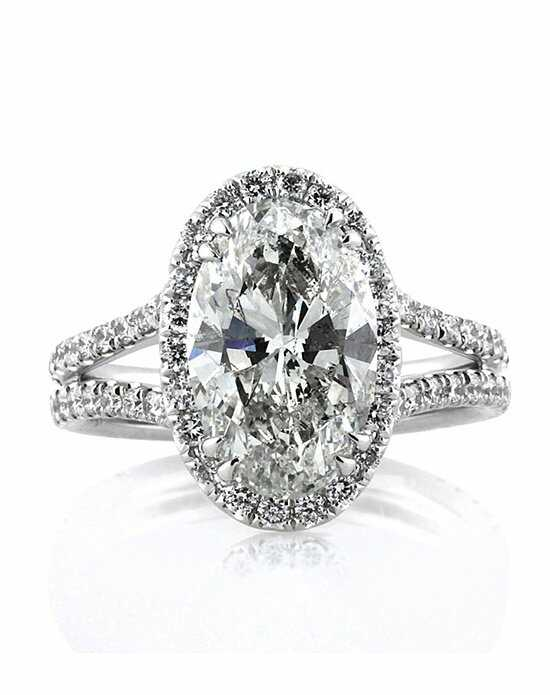 mark broumand 496ct oval cut diamond engagement ring - Oval Wedding Ring