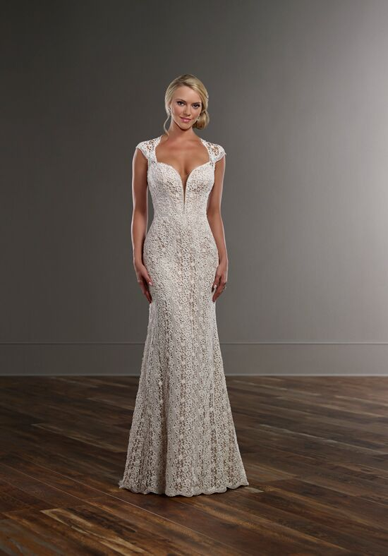 Martina Liana 773 Sheath Wedding Dress