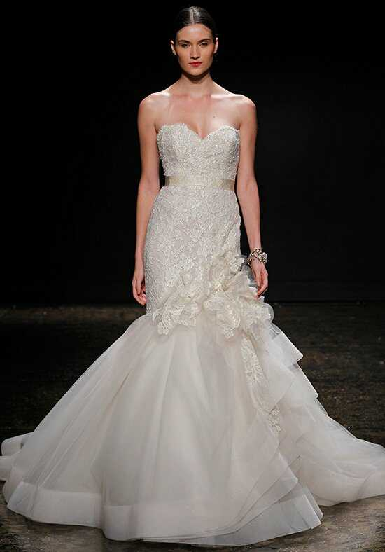 Lazaro 3415 Mermaid Wedding Dress