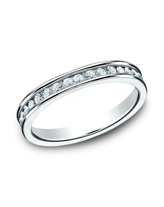Benchmark 513550W White Gold Wedding Ring