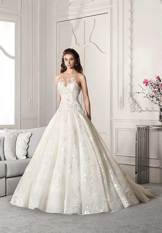 Demetrios 859 A-Line Wedding Dress