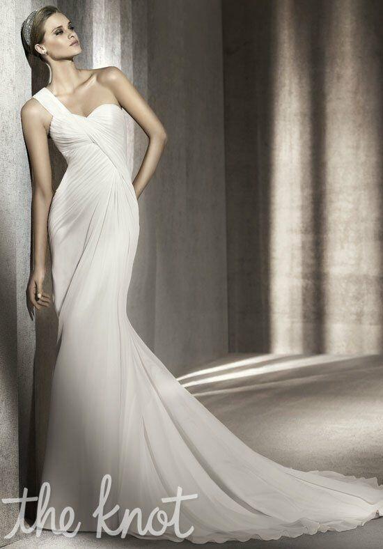 Ovias Paris A Line Wedding Dress