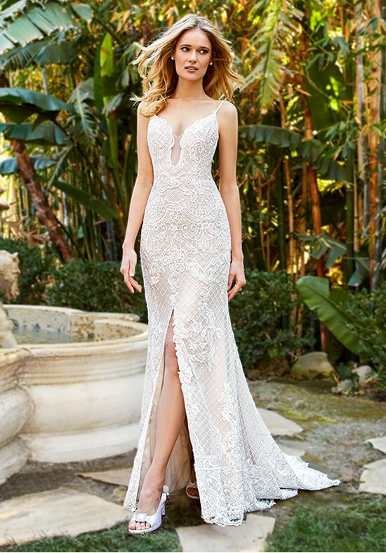 Moonlight Couture H1360 Mermaid Wedding Dress