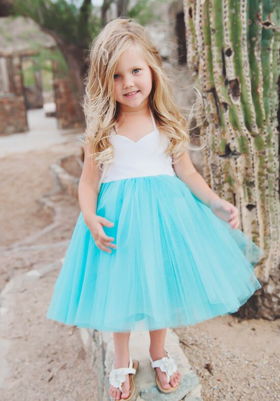 FATTIEPIE Selena Ivory Flower Girl Dress
