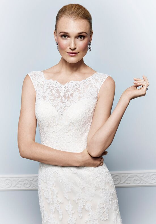 Kenneth Winston 1648 Sheath Wedding Dress