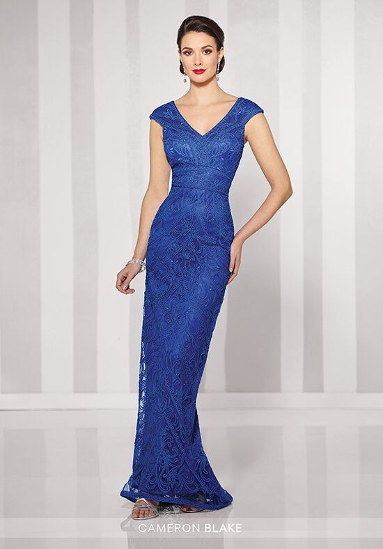 Cameron Blake 216693 Blue Mother Of The Bride Dress