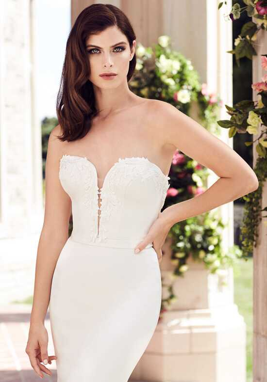 Paloma Blanca 4743 Mermaid Wedding Dress