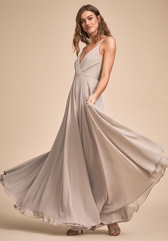 BHLDN (Bridesmaids) Eva Dress V-Neck Bridesmaid Dress