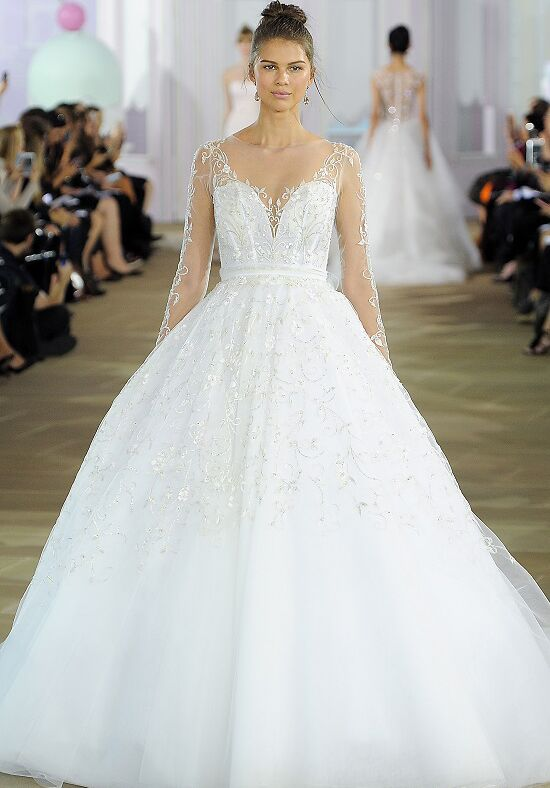 Ines Di Santo Yvette Ball Gown Wedding Dress