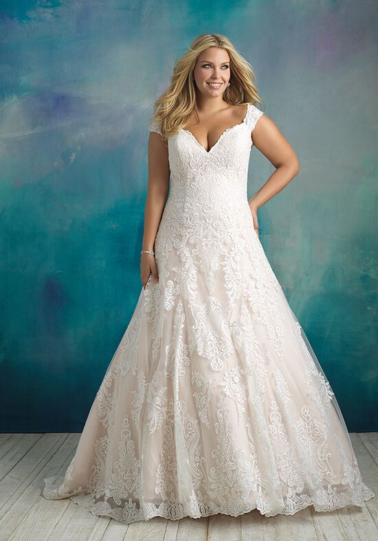 Allure Bridals W416 Ball Gown Wedding Dress