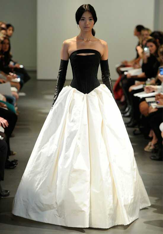 Vera Wang Spring 2014 Look 13 Ball Gown Wedding Dress