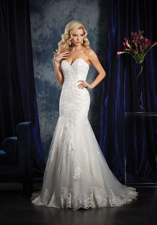 Alfred Angelo Sapphire Bridal Collection 985 Mermaid Wedding Dress