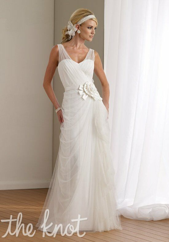 Destinations by Mon Cheri 112103 A-Line Wedding Dress