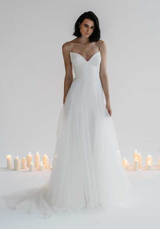 KAREN WILLIS HOLMES Alecia & Natalia A-Line Wedding Dress