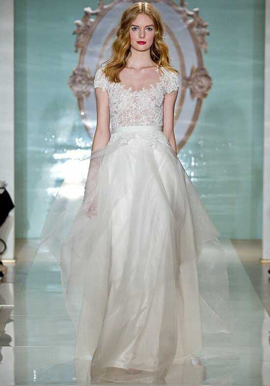 Reem Acra Fantastic Girl A-Line Wedding Dress