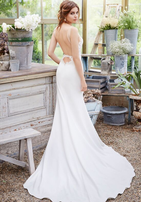 Tara Keely by Lazaro 2651 Sheath Wedding Dress