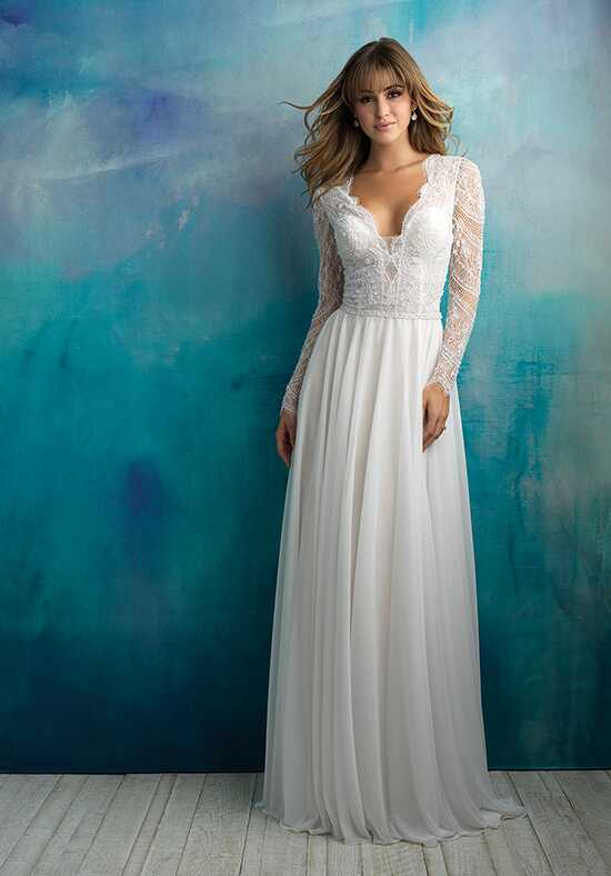 Allure Bridals 9515 A-Line Wedding Dress