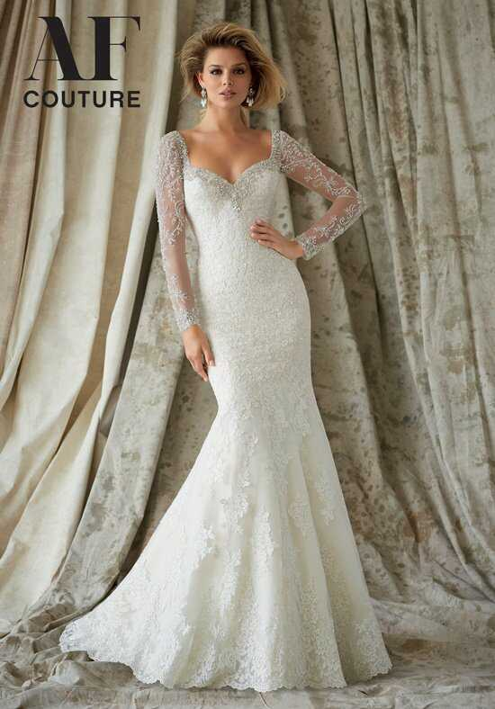 AF Couture: A Division of Morilee by Madeline Gardner 1321 A-Line Wedding Dress