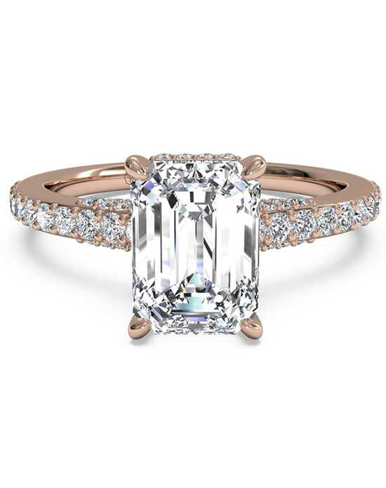 diamond rings morganite emerald gold iturraldediamonds pave engagement solitaire jewellery com shop ring cut rose